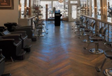 Phia Salon Interior View Looking East