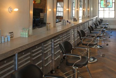 Phia Salon Interiorstylist stations southwest view  as detailA