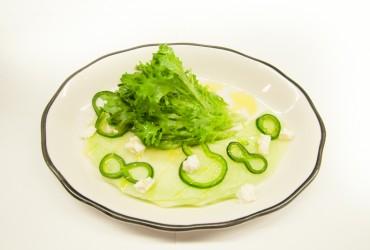 The Poblano Melon Salad from The Market Italian Village