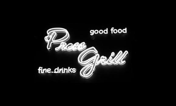 press grill logo