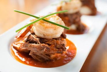 Hubbard Grille Short Ribs & Shrimp