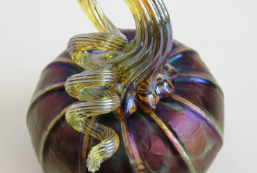 glass pumpkin