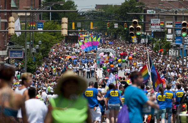 Columbus gay pride parade