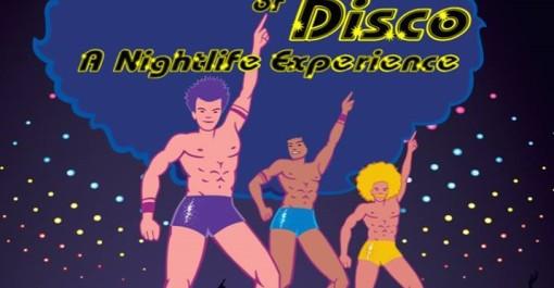 garden disco poster