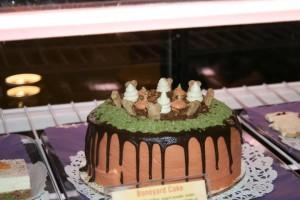 three dog cake