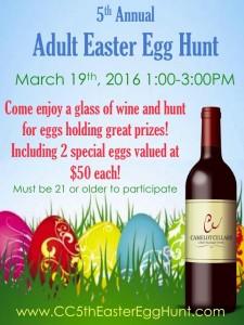 Adult Easter Egg Hunt 2016