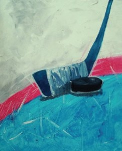 Paint Nite with the Blue Jackets