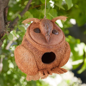 owl birdhouse gobal gifts mother's day