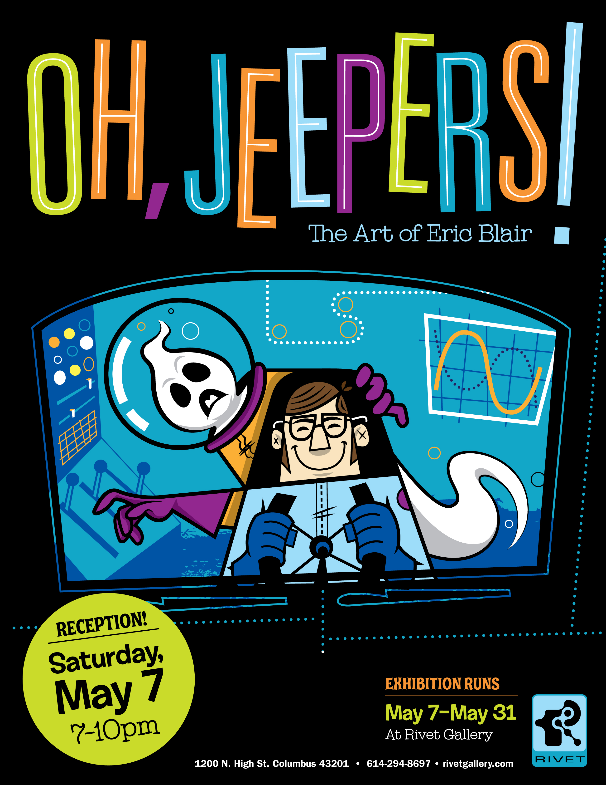 Oh jeepers the art of eric blair short north for Art and craft shows in ohio