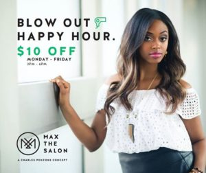 Blow Out Happy Hour