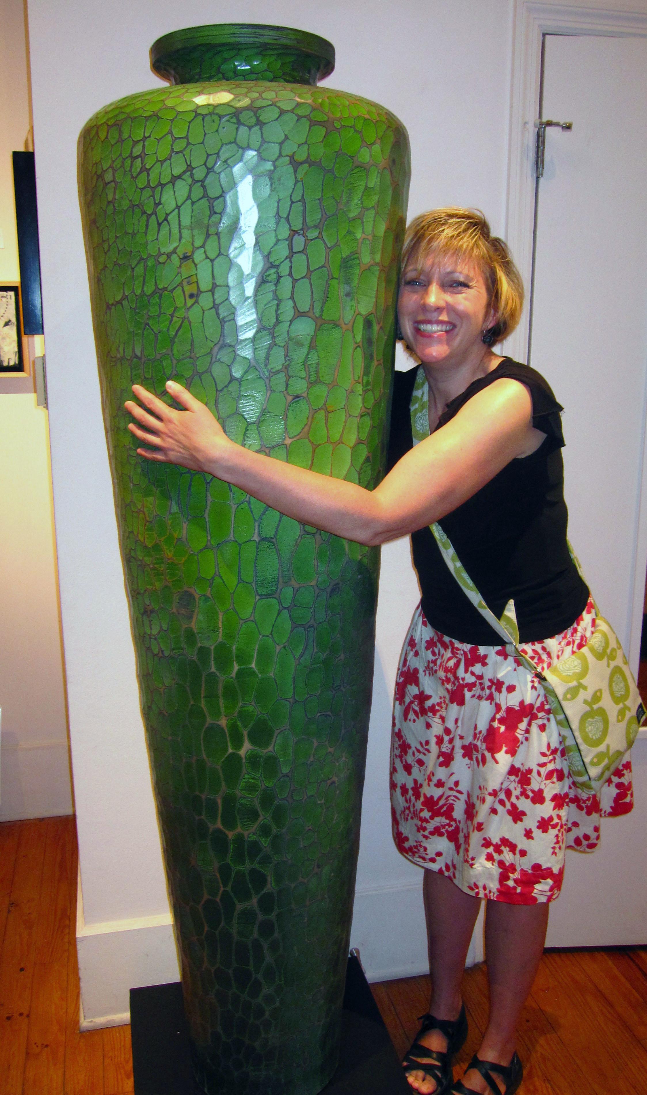 SHenry Green Vase