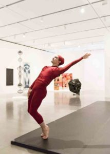 Silas Riener performs Merce Cunningham's Changeling Photo: Liza Voll