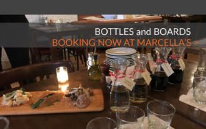 JoinMyTable presents the Bottles and Board Table at Marcella's in Columbus, Ohio's Short North Arts District