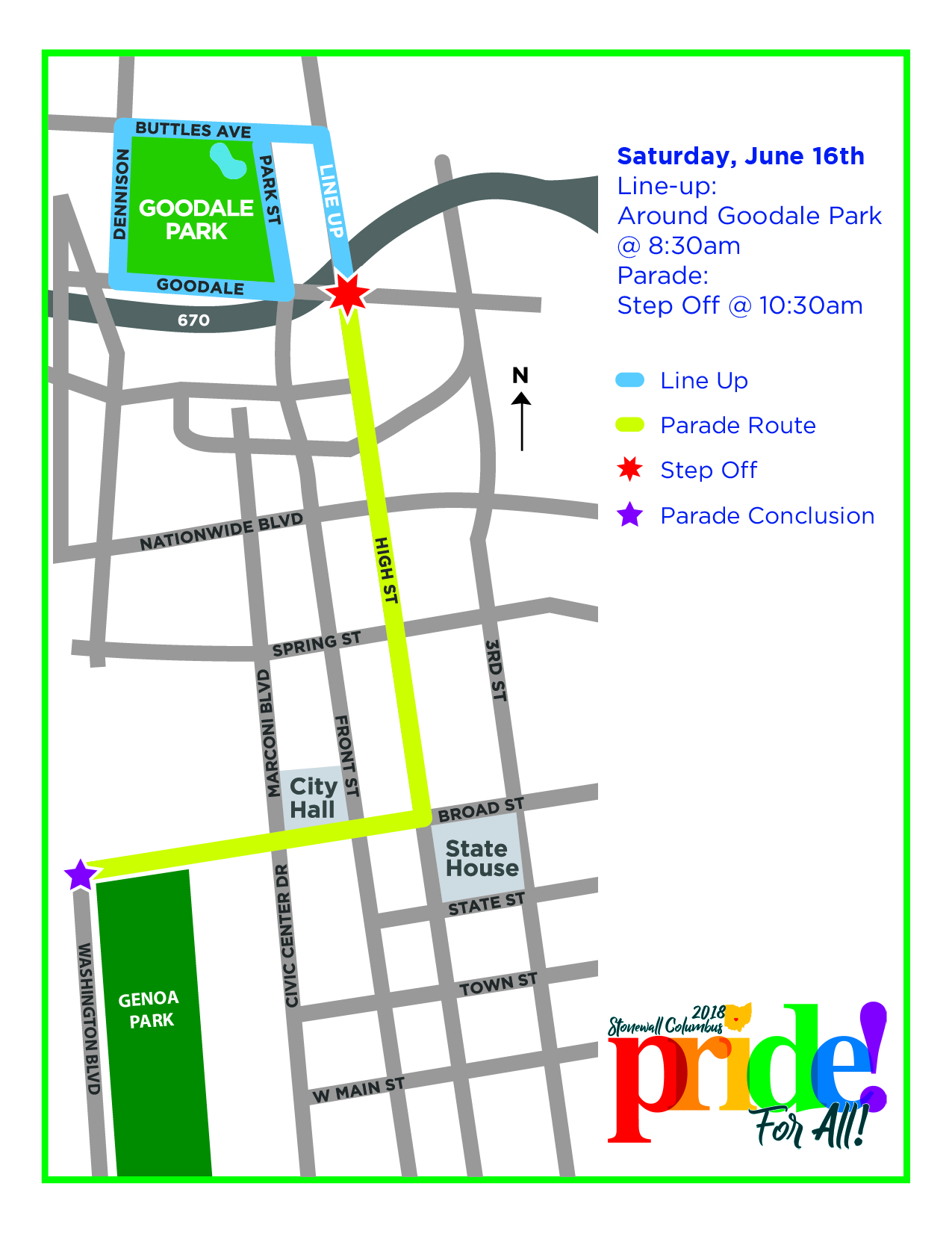 Pride, Goods on Goodale, and Father\'s Day 2018 | Short North ...