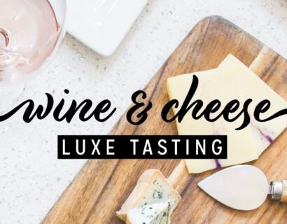 Luxe Wine & Cheese Tasting at Wine on High