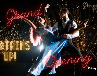 """""""Curtains Up!"""" Grand Opening Showcase at Danceville, USA"""