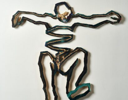 Bruce Robinson and Nina Katchadourian at The Pizzuti Collection of the Columbus Museum of Art