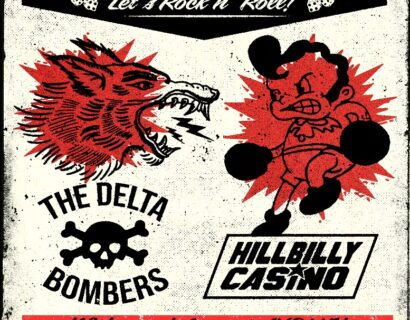 The Delta Bombers with Hillbilly Casino and VOLK at Skully's