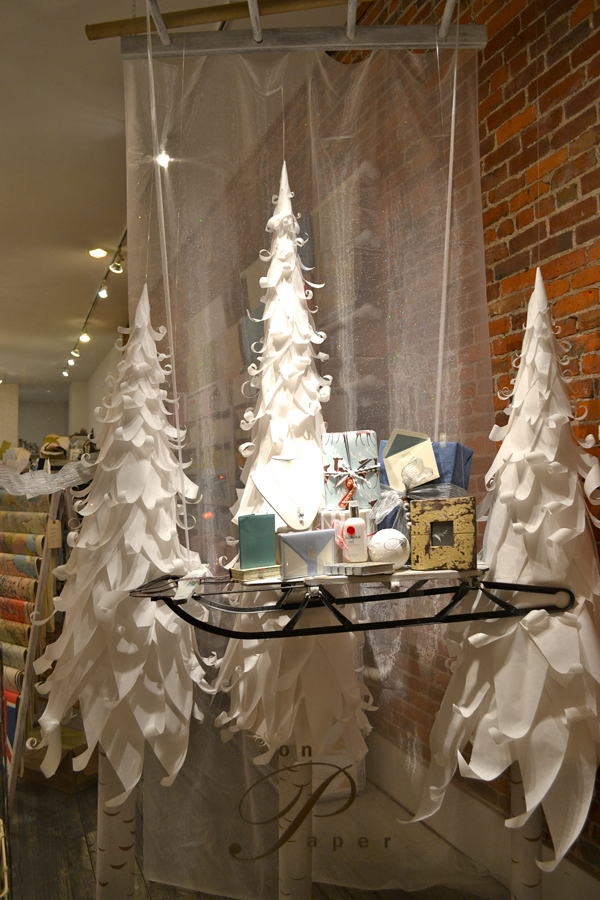2011 Holiday Window Display Contest And The Winner Is